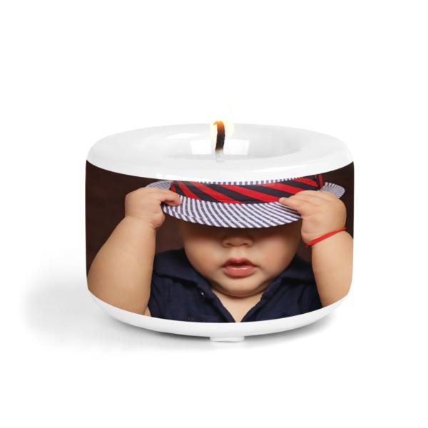 Kerzenhalter mit Foto bedrucken