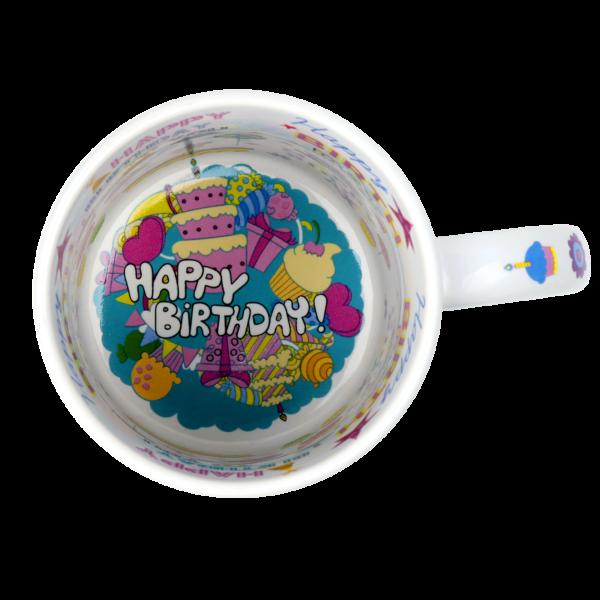 Motto-Tasse Happy Birthday