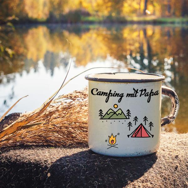 Outdoor-Tasse zum Vatertag gestalten