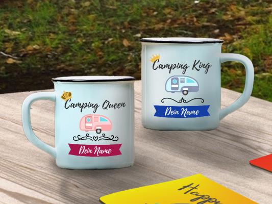 Outdoor-Tasse zum Camping