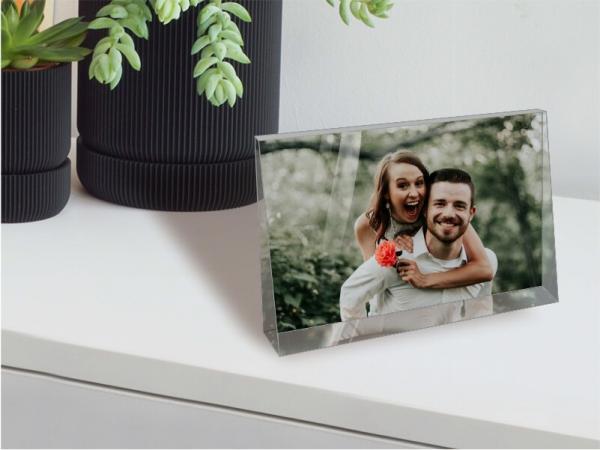 Glasbild mit Ihrem Foto